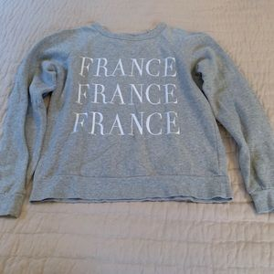 Forever 21 France Sweatshirt Small